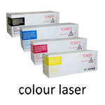 the cartridge family, compatible, fuji, xerox, colour, laser, toner