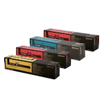 the cartridge family, kyocera, mita, colour, copier, toner