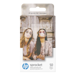 HP 1RF42A ZINK Sticky-backed Photo Paper 5 x 7.6cm (2x3