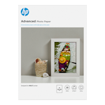 HP 7MV83A Advanced Glossy Photo Paper A4 20 Sheets 250gsm