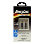 Energizer Audio Stereo Cable 3.5mm Jack 1.5m