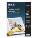 Epson S041288 Premium Glossy Photo Paper A3 20 Sheets 255gsm