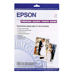 Epson S041289 Premium Glossy Photo Paper A3+ 20 Sheets 256gsm