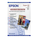 Epson S041328 Premium Semigloss Photo Paper A3+ 20 Sheets 251gsm
