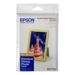 Epson S041867 Premium Glossy Photo Paper 4x6 50 Sheets 255gsm