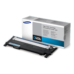 Samsung CLT-C406S Cyan Toner Cartridge (Up to 1,000 pages)(Part# ST986A)