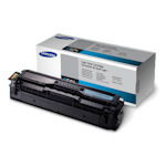 Samsung CLT-C504S Cyan Toner Cartridge (Up to 1,800 pages)(Part# SU027A)