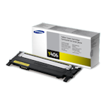 Samsung CLT-Y406S Yellow Toner Cartridge (Up to 1,000 pages)(Part# SU464A)