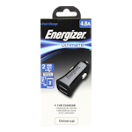 Energizer Car Charger 2.4A with 2 x USB Ports