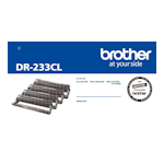Brother DR-233CL Drum Unit 4-Colour Pack (Up to 18,000 pages each)