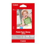 Canon GP-701A4 Glossy Photo Paper A4 100 Sheets 200gsm