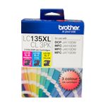 Brother LC-135XL-CL3PK