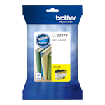 Brother LC-3337Y Yellow Ink Cartridge High Yield (Up to 1,500 pages)
