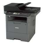 Brother MFC-L6700DW A4 Mono Laser Multifunction Printer 48ppm