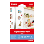 Canon MG-101 Magnetic Photo Paper 4x6 5 Sheets 670gsm
