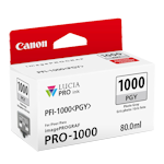 Canon PFI-1000PGY Photo Grey Ink Cartridge LUCIA Pro (80ml)