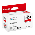 Canon PFI-1000R Red Ink Cartridge LUCIA Pro (80ml)