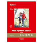 Canon PP-301A4 Photo Paper Plus Glossy II A4 20 Sheets 265gsm