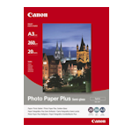 Canon SG-201A3 Semi Gloss Photo Paper A3 20 Sheets 260gsm