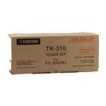Kyocera TK-310 Toner Kit (Up to 12,000 pages)(Part# 1T02F80AS0)