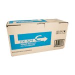 Kyocera TK-574C Cyan Toner Kit (Up to 12,000 pages)(Part# 1T02HGCAS0)